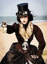 What Clothing Pieces Define a Steampunk Image?