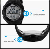 SKMEI Brand Men Sports Watches LED Digital Watch Fashion Outdoor Waterproof Military Men's Wristwatches Relogios Masculinos - Hespirides Gifts - 14