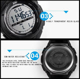 SKMEI Brand Men Sports Watches LED Digital Watch Fashion Outdoor Waterproof Military Men's Wristwatches Relogios Masculinos - Hespirides Gifts - 7