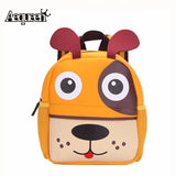 New 3D Cute Animal Design Backpack Kids School Bags For Teenage Girls Boys Cartoon Dog Monkey Shaped Children Backpacks Big Size