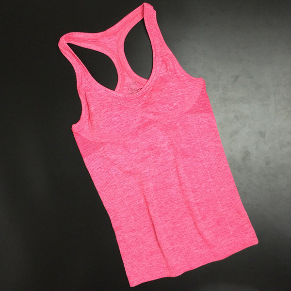 Sports Active summer style tank top quick dry Hot Ladies Fashion Sports Camis Fitness Gym Tanks - Hespirides Gifts - 2
