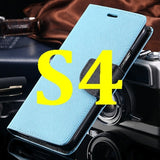 S4/S5 Luxury PU Leather Case for Samsung Galaxy S5 SV I9600 Wallet Holster Phone Back Cover Bag for Samsung Galaxy S4 SIV I9500 - Hespirides Gifts - 18