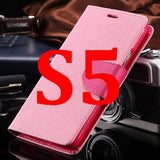 S4/S5 Luxury PU Leather Case for Samsung Galaxy S5 SV I9600 Wallet Holster Phone Back Cover Bag for Samsung Galaxy S4 SIV I9500 - Hespirides Gifts - 14