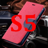 S4/S5 Luxury PU Leather Case for Samsung Galaxy S5 SV I9600 Wallet Holster Phone Back Cover Bag for Samsung Galaxy S4 SIV I9500 - Hespirides Gifts - 15
