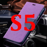S4/S5 Luxury PU Leather Case for Samsung Galaxy S5 SV I9600 Wallet Holster Phone Back Cover Bag for Samsung Galaxy S4 SIV I9500 - Hespirides Gifts - 22