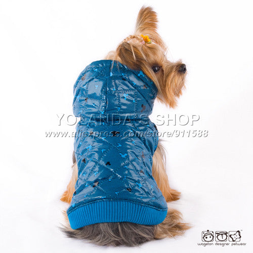 ping! WAGETON fashion dog clothes Hot sale! Wholesale and Retail designer pet clothing -5 colors - Hespirides Gifts - 5