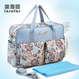 MultiColor diaper bag shoulder handbag high quality maternity mother stroller mummy bag multifunctional baby bags - Hespirides Gifts - 11