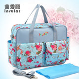 MultiColor diaper bag shoulder handbag high quality maternity mother stroller mummy bag multifunctional baby bags - Hespirides Gifts - 5