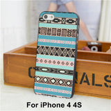 Elephant Print Animal Phone Case,Aztec Phone Case With Elephant Print,Cheap For Iphone 4 5 Case Cover - Hespirides Gifts - 7