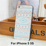Elephant Print Animal Phone Case,Aztec Phone Case With Elephant Print,Cheap For Iphone 4 5 Case Cover - Hespirides Gifts - 4