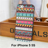 Elephant Print Animal Phone Case,Aztec Phone Case With Elephant Print,Cheap For Iphone 4 5 Case Cover - Hespirides Gifts - 15