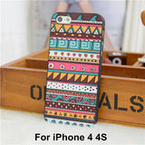 Elephant Print Animal Phone Case,Aztec Phone Case With Elephant Print,Cheap For Iphone 4 5 Case Cover - Hespirides Gifts - 16