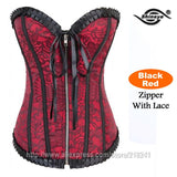 Shineye Sexy Corset Latex Waist Training Corsets Shapewear Bustier Gothic Steampunk Corselet Cincher Espartilho LaceUp Plus Size - Hespirides Gifts - 6