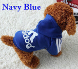 Dog Clothes Pets Coats Soft Cotton Puppy Dog Clothes Adidog Clothes For Dog New Autumn Pet Products 7 colors XS-4XL - Hespirides Gifts - 4