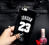 NBA brand Michael Jordan 23 fundas PC hard mirror Phone Cases for iPhone 5 5s 6 6 puls case - Hespirides Gifts - 12