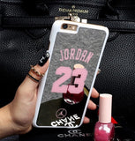 NBA brand Michael Jordan 23 fundas PC hard mirror Phone Cases for iPhone 5 5s 6 6 puls case - Hespirides Gifts - 8
