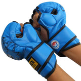 MMA Muay Thai Kick Boxing Gloves Half Fighting Boxing Gloves Competition Training Gloves guantes de boxeo - Hespirides Gifts - 5