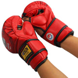 MMA Muay Thai Kick Boxing Gloves Half Fighting Boxing Gloves Competition Training Gloves guantes de boxeo - Hespirides Gifts - 4