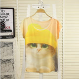 WAIBO BEAR New summer t shirt women Tee Shirts style thin plus size short sleeve Shirt female Tops Tees - Hespirides Gifts - 14