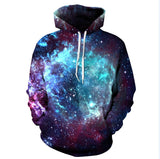 New Fashion Space Galaxy Sweatshirt Hoodies 3D Print Hip Hop Coats Casual Sweatshirt Sportwear Tops - Hespirides Gifts - 7