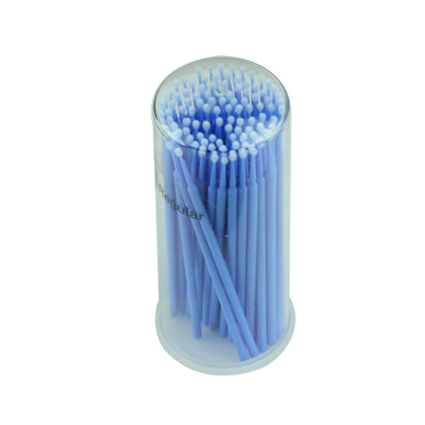 New 100pcs Eyelash Extension Micro Brushes Disposable Individual Applicators Mascara best deal 1pack - Hespirides Gifts - 1