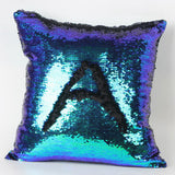 Happy New Fashion Beauty Double 40X40CM Color Glitter Sequins Throw Pillow Case Cafe Home - Hespirides Gifts - 7