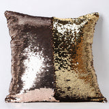 Happy New Fashion Beauty Double 40X40CM Color Glitter Sequins Throw Pillow Case Cafe Home - Hespirides Gifts - 3