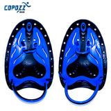COPOZZ Adjustable Silicone Hand Swimming Trax Paddles Fins Flippers Webbed Training Pool Diving Gloves padel Aletas Men Women - Hespirides Gifts - 5
