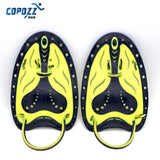 COPOZZ Adjustable Silicone Hand Swimming Trax Paddles Fins Flippers Webbed Training Pool Diving Gloves padel Aletas Men Women - Hespirides Gifts - 4