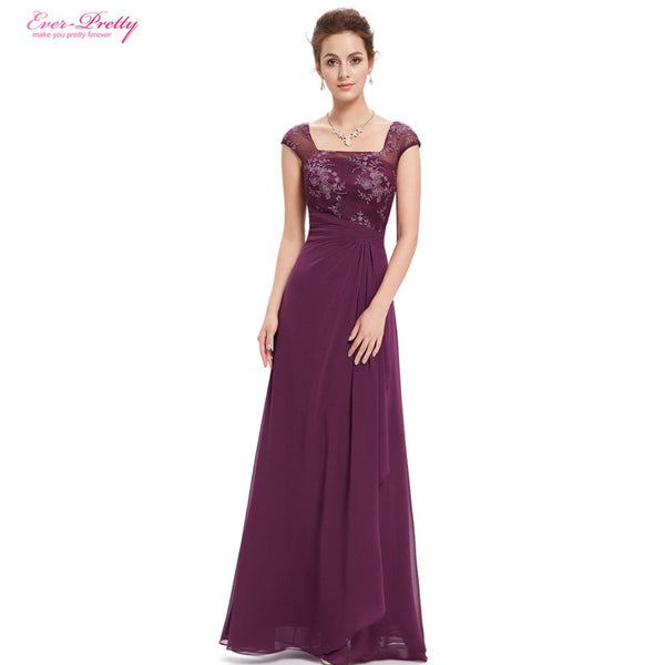 Mother of the Bride Dresses Women Charming Ever-Pretty Long Lacey 2016 New Arrival HE08550PP Mother of the Bride Dresses