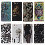 Cartoon High Quality Glossy Soft TPU Case Protector Back Cover Owl Phone Case for Sony Xperia Z3 Compact Z3Mini D5803 D5833 M55W - Hespirides Gifts - 1