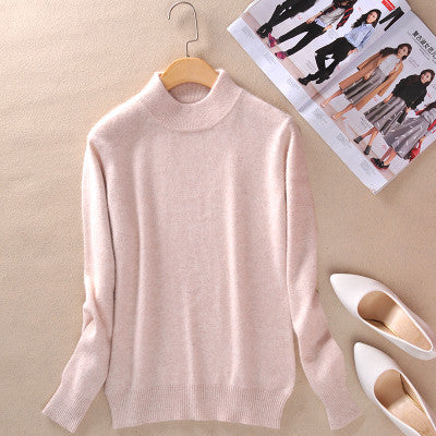 zocept 2016 High-quality Cashmere Sweaters Women Fashion Autumn Winter Female Soft and Comfortable Warm Slim Cashmere Pullovers - Hespirides Gifts - 11