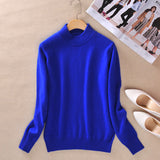 zocept 2016 High-quality Cashmere Sweaters Women Fashion Autumn Winter Female Soft and Comfortable Warm Slim Cashmere Pullovers - Hespirides Gifts - 13