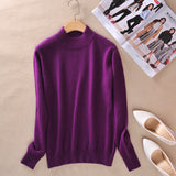 zocept 2016 High-quality Cashmere Sweaters Women Fashion Autumn Winter Female Soft and Comfortable Warm Slim Cashmere Pullovers - Hespirides Gifts - 6