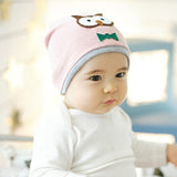 New Baby Boys Girls Hat Cotton Blends Caps Newborn Infant Baby Hat Owl Print Baby Clothing Accessories - Hespirides Gifts - 2