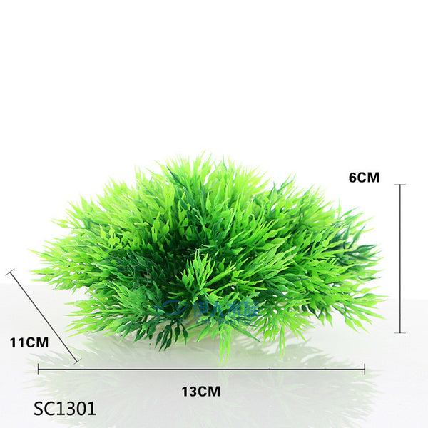 Eco Friendly Plastic Simulation Aquarium Green Fake Water plants Fish Tank aquarium Plants aquarium accessories