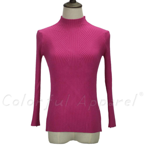 new fashion women turtleneck knitted sweater female knitted slim pullover ladies all-match basic thin long sleeve shirt clothing