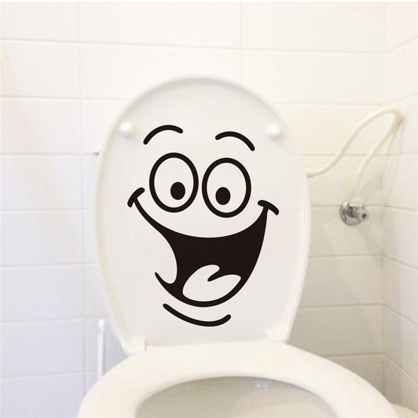 big mouth toilet stickers wall decorations 342. diy vinyl adesivos de paredes home decal mual art waterproof posters paper 7.0 - Hespirides Gifts - 4