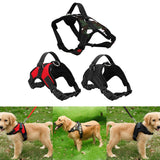 S/M/L/XL 3 Colors Pet Large Dog Soft Adjustable Harness Pet Walk Out Hand Strap Vest Collar For Dog's