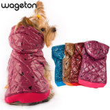 ping! WAGETON fashion dog clothes Hot sale! Wholesale and Retail designer pet clothing -5 colors - Hespirides Gifts - 1