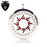 U Believe 2016 New 316L Stainless Steel Perfume Locket Necklace Essential Oil Aromatherapy Locket Pendant(Send Chain,Felt Pad) - Hespirides Gifts - 1