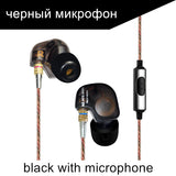 KZ ATE S Copper Driver HiFi Sport Headphones In Ear Earphone For Running With Foam Eartips With Microphone - Hespirides Gifts - 5