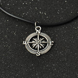 Retro Silver Simple Harry Potter Deathly Hallows Rope Pendant Necklace Elephant Bird Rubber Compass Charms Choker Necklaces - Hespirides Gifts - 4