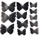 house decoration 12 PCS stereo butterflies refrigerator stickers home decor removable 3D wall stickers home decor - Hespirides Gifts - 25