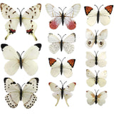 house decoration 12 PCS stereo butterflies refrigerator stickers home decor removable 3D wall stickers home decor - Hespirides Gifts - 26