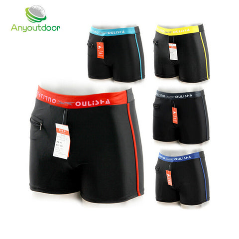 New summer beach sexy briefs diving swimming trunks men's swimsuit trunks water sports shorts swimwear for men sungas masculinas - Hespirides Gifts - 1