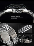 New CURREN Luxury Brand Watches Men Quartz Fashion Casual Male Sports Watch Date Clock Full Steel Military Wristwatches - Hespirides Gifts - 9