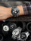 New CURREN Luxury Brand Watches Men Quartz Fashion Casual Male Sports Watch Date Clock Full Steel Military Wristwatches - Hespirides Gifts - 8