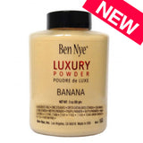 2016 Brand NEW Ben Nye LUXURY POWDER BANANA Foundation poudre 85gm./42gm Bottle Poudre de Luxe Loose Beauty Makeup highlighter - Hespirides Gifts - 1
