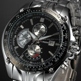New CURREN Luxury Brand Watches Men Quartz Fashion Casual Male Sports Watch Date Clock Full Steel Military Wristwatches - Hespirides Gifts - 7